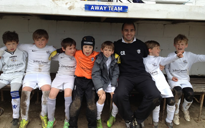 AFC Lightning U9s, Marlow FC, 11-May-2014 image